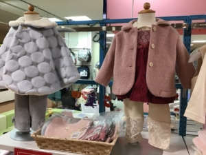 日本製ベビー服「パンプルムース」秋冬物オール20%OFF